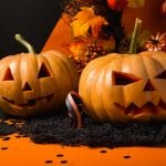 Pumpkin Halloween background image