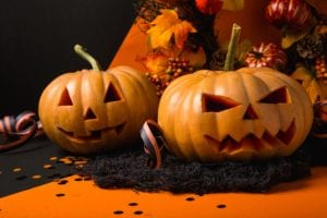 Scary Pumpkins for Halloween from Discount Diva Styles